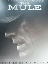 The Mule (DVD, 2019) Clint Eastwood SEALED