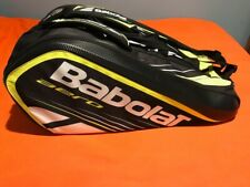 Babolat Aero 12 Pack Tennis Racket Bag in Excellent Condition (Black & Yellow)