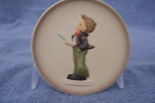"1986 Goebel Hummel Miniature Collector's Plate ""Soloist"" with Box"