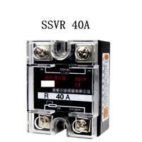 220V AC Single Phase SSVR 40A Solid State Voltage Regulator Relay