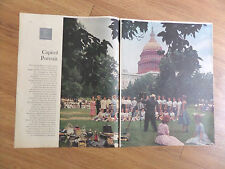 1960 Article Ad Washington DC Our Lady Angels High School Norwood OH Class