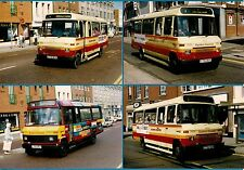 4 Bus Photos ~ Eastern Counties - 1986 Mercedes Benz L608D Minis - Norwich: 1995