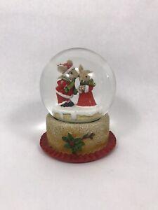 Snow globe christmas