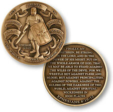 New High Relief Armor Of God Ephesians 6:103-12 Challenge Coin