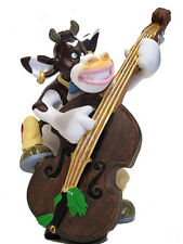 SO`VACHE Comic Kuh Bass Jazz Musik Figur Sammlerfigur Band Orchester - 20426