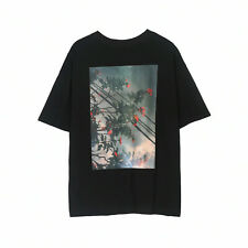 FEAR OF GOD FOG ESSENTIALS PHOTO TEE Floral Print Photo Short Sleeve T-Shirt