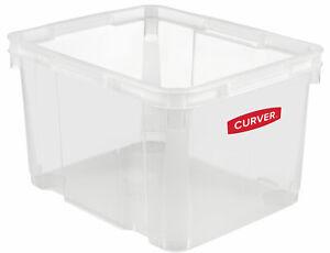 Curver Unibox 30L 42,5 x 34 x 25 Stapelbox Kunstoffbox Box Aufbewahrungsbox