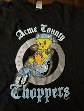 New ListingTweety Bird - Acme Choppers / Vintage Warner Bros Looney Tunes T Shirt / Biker