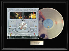BOB MARLEY BABYLON BY BUS WHITE GOLD SILVER PLATINUM TONE RECORD RARE NON RIAA