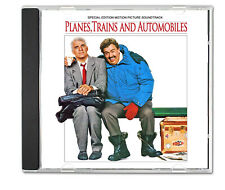 PLANES TRAINS & AUTOMOBILES 1988 CD Special Edition Film Soundtrack 80s New WaVe