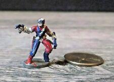 Vintage Pewter Figure Marvel Comics Superhero Red & Blue Uniform Ral Partha 1986