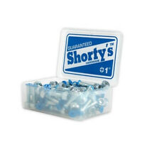 "Shorty's Skateboard Hardware 1"" Phillips Blue Shortys Truck Mounting Bolts"