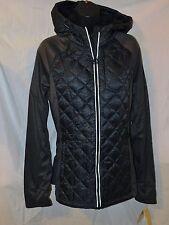 New Women's MIchael Kors Down Filled Hoodie Jacket $188 MSRP Size L