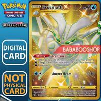 Frosmoth Full Art SR 204/192 Rebel Clash for Pokemon Card Online TCG Digital