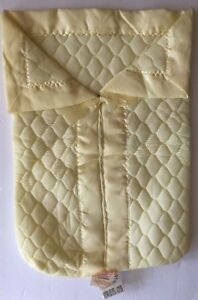Vtg Dacron QUILTEX Baby Sleeper Blanket Hat Quilted DuPont Polyester Filled USA