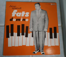 FATS DOMINO here stands vinyl 33T