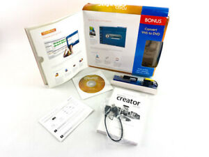 Roxio Creator 2010 Special Edition Converter VHS to DVD