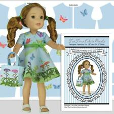 Wellie Wisher 14.5 in Doll Clothes Kit Butterfly Fantasy Dress Jacket Tote Bag
