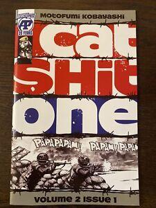 Cat*Shit*One Volume 2 Issue 1 Kobayashi Antarctic Press 2020