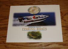 Original 2000 Smoker Craft Fishing Boats Sales Brochure 00