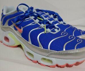New W SZ 8.5 AIR MAX Plus Nike ULTRAMAN Metallic Blue PINK CU4819-400 Women NEW