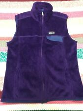 Patagonia Re Tool Zip Up Fleece Vest Purple Size Medium