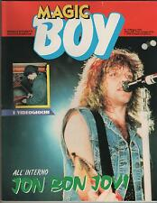 MAGIC BOY N.13 mattel comics magazine 1989 HE-MAN masters universe video boy