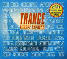 Trance Europe Express Vol 1 CD 2 Disc Volume Dance & Electronica RARE DJ Teex