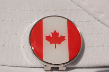 Canadian Flag Golf Ball Marker w/Magnetic Hat Clip