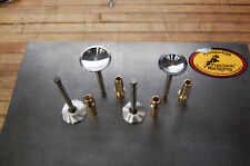 NEW Triumph 750  Kibblewhite stainless valve & manganese guide COMPLETE SET !