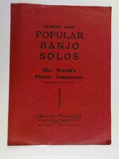 banjo + piano SULLIVAN SELECTION ( arthur stanley )