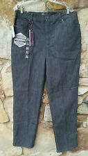 NWT Gloria Vanderbilt Amanda Ultra Stretch Black Jeans Women's Size 16