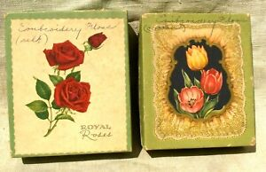 2 Vintage Boxes of Embroidery Floss, Cotton and Silk