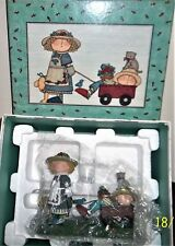 Lang & Wise/  Sue Dreamer / My Red Wagon / First Edition 1998 /Box/ Retired Rare