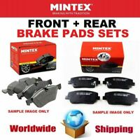 MINTEX FRONT + REAR Axle BRAKE PADS SET for NISSAN 370 Z 3.7 2009->on