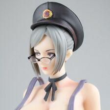 Anime Prison School Meiko Shiraki Sexy Overalls Ver PVC Figure Statue Toy No Box