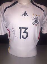 Signed Thomas Muller Germany 2006 Home Shirt