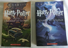 Harry Potter and the Chamber of Secrets & Prisoner of Azkaban By JK Rowling 2013