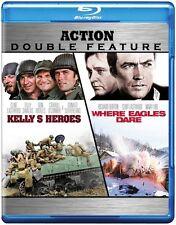 Kelly's Heroes/Where Eagles Dare  BLU-RAY/WS (Blu-ray Used Very Good) BLU-RAY/WS