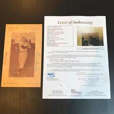 Rare Bobby Thomson Day Signed 1951 Program W/ Durocher Irvin Harwell JSA COA