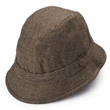 "RUBINACCI London House by Herbert Johnson UK Wool Tweed ""Humphrey"" Hat 6 3/4-55"