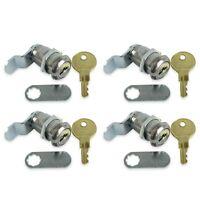4 Pack Rv Compartment Door Cam Lock 1 1/8 Inch Camper Trailer Motorhome Storage