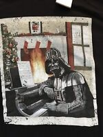 Disney Star Wars Darth Vader Holiday T-Shirt Size 2X New With Tags Christmas