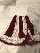 CAREFREE FASHIONS Scottsdale Arizona prairie lace  SKIRT Boho Vintage Look M