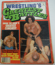 Wrestling's Greatest Battles Magazine Andre The Giant Summer 1978 062615R2
