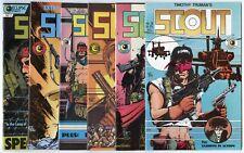 Scout #2 - 24, War Shaman #1 - 16  Complete Runs, + 9  avg. NM 9.4  Eclipse 1985