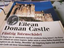 Burgen und Schlösser England Eilean Donan Castle Festung gegen Norweger