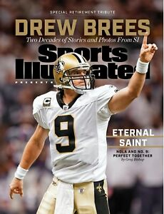 Drew Brees Retirement Tribute Sports Illustrated cover photo - select size
