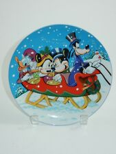 Schmid Disney 1988 Collectors Warm Winter Ride Annual Plate #5112