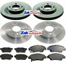 FOR HONDA JAZZ  1.2 1.3 1.4 (2008-2014) FRONT & REAR BRAKE DISCS & PADS SET NEW